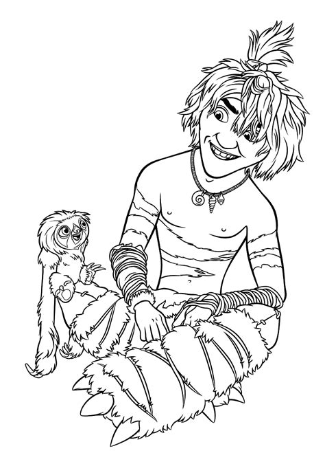 croods coloring pages    print