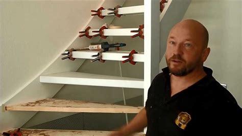 renovatie van trap traprenovatie bij een opentrap renoveren youtube