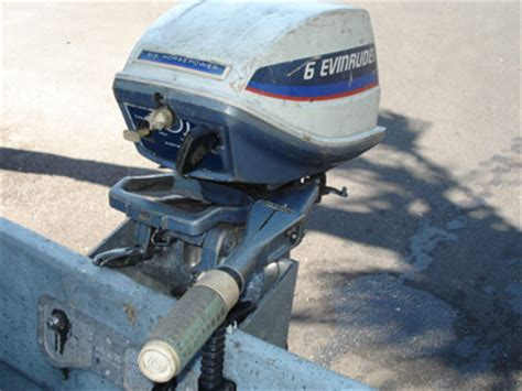 hp evinrude outboard motor fisherman