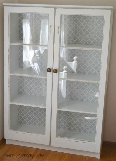 Repurposed Window Cabinet   Cabinet ideas, Repurposed and