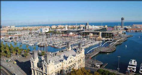 le port de barcelone port vell barcelona le vieux port de barcelone