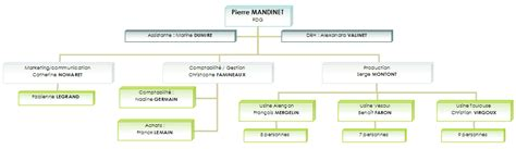 hierarchie cuisine modele organigramme mairie document
