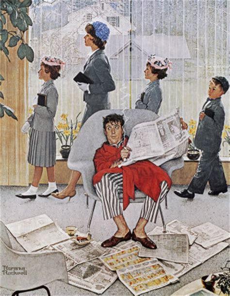 Original Norman Rockwell Paintings  Bing Images