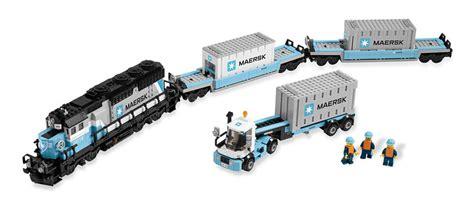 J'en Rêve, Le Train Lego Maersk 10219  Citybrickcom, Le