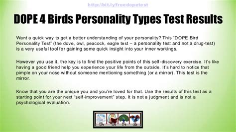 Dope 4 Bird Personality Types Test Results -- A Quiz By