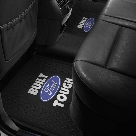 floor mats with ford logo plasticolor 174 floor mat with ford logo