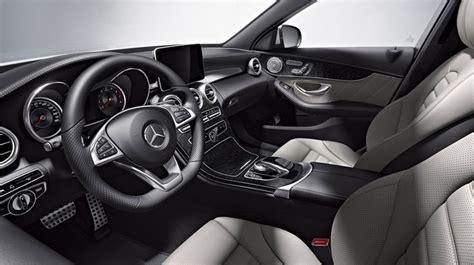 mercedes black leather 4matic sedan in grey black leather with open pore black ash wood mercedes c300