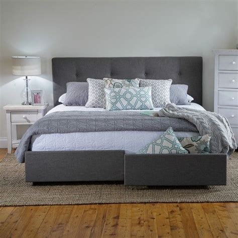 georgia king bed frame  storage drawers products