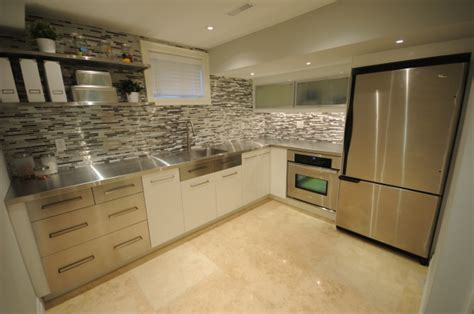 glass tile kitchen backsplash windermere basement kitchen kitchens portfolio