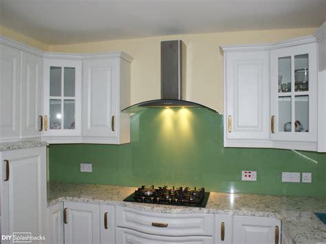 green splashbacks for kitchens fitted glass splashbacks 4040