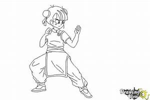 How to Draw a Manga Girl Fighting Pose - DrawingNow