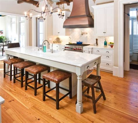 kitchen islands table 30 kitchen islands with tables a simple but clever combo