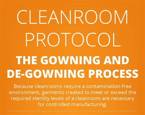 cleanroom protocol  gowning  de gowning process
