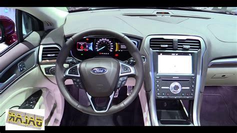 ford fusion platinum interior youtube