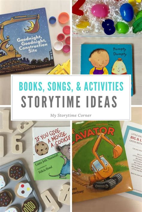 Storytime Ideas - My Storytime corner