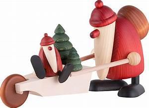 Köhler Kunsthandwerk Shop : santa claus with wheelbarrow 19 cm by bj rn k hler kunsthandwerk ~ Sanjose-hotels-ca.com Haus und Dekorationen