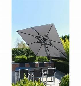 Toile Pour Parasol Déporté : toile de remplacement titanium en olefin pour parasol easy sun 320 ~ Teatrodelosmanantiales.com Idées de Décoration