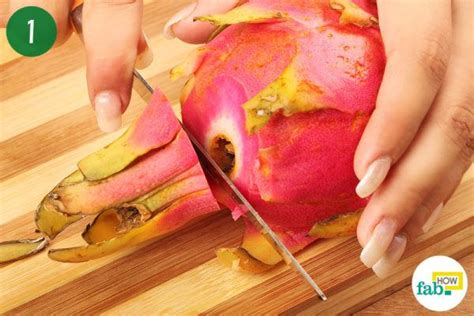 How To Cut And Eat Dragon Fruit  Fab How