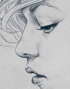 drawings, girl, love, drawing, sad - image #4292435 by ...