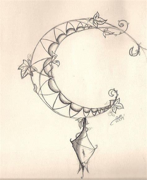 art nouveau crescent moon   europa  deviantart tattoos pinterest tattoo tattoo