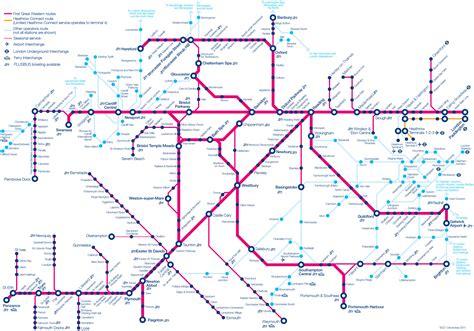bahn netzplan und karte von london stationen und linien