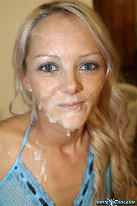 """Cum Shot Crazy 🔞 78k on Twitter: """"Blonde Whores Gagging for the Hot Creamy Cum #Porn #Cum # ..."""