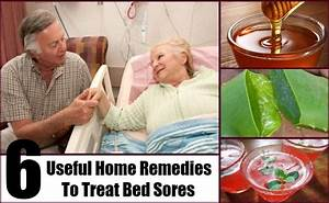 6 useful home remedies to treat bed sores natural cure With bed sores treatment at home