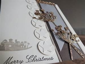 Edle Weihnachtskarten Basteln : eine edle weihnachtskarte auf die schnelle kreativ mit ~ A.2002-acura-tl-radio.info Haus und Dekorationen