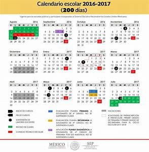 Calendario Escolar SEP 2016 – 2017. uno de 200 días y otro ...