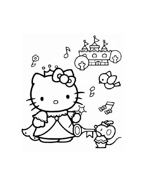 Kleurplaat Kasteel Prinses by Kleuren Nu Hello Als Prinses Bij Een Mooi Kasteel
