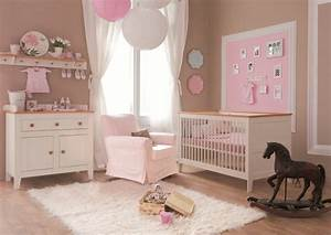 lit bebe 140x70 evolutif mobilier chambre a coucher bebe With chambre de bebe fille photo