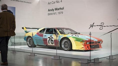 Up Close With Andy Warhol's Bmw M1 Art Car