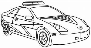 KonaBeun Zum Ausdrucken Ausmalbilder Polizeiauto 22818