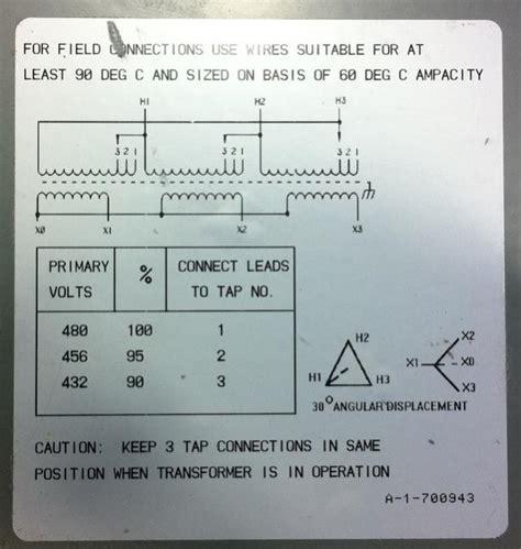 480v 277 volt transformer diagram 480v free engine image