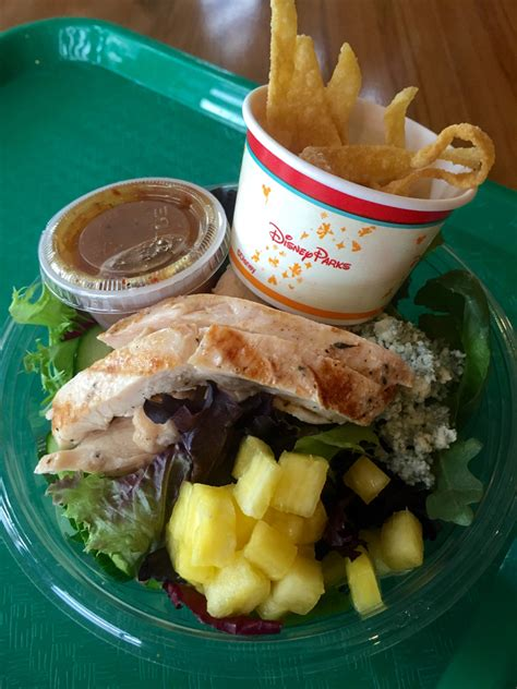 fast delicious meals 3 healthy and delicious quick service meals at disney