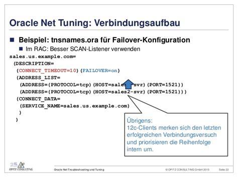 Oracle Net Troubleshooting + Tuning