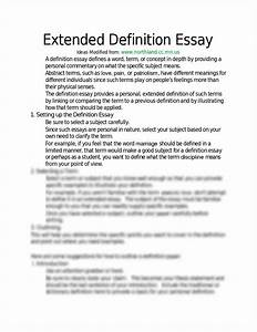 Definition essays samples psychology dissertation example definition ...