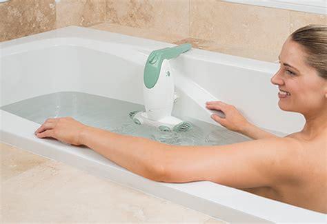 portable bathtub jet spa dual jet bath spa sharper image