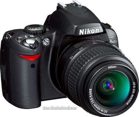 Nikon D40 Shooting Menu