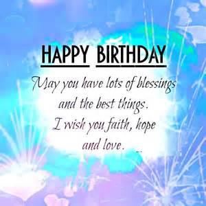 Happy Birthday Religious Blessing