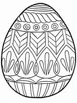 Easter Egg Coloring Pages Colouring Eggs Printable Print Printables Happy Bunny Para sketch template