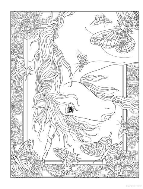 Creative Haven Unicorns Coloring Book in 2020   Animal