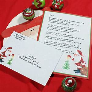 personalized letter from santa santa39s wish With how to get a personalized letter from santa