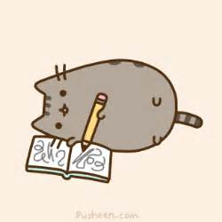 pusheen the cat book pusheen the cat quot i m writing my book quot all things