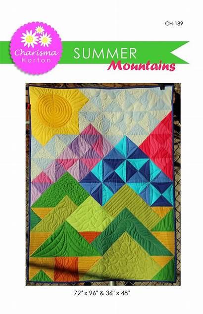 Mountains Quilt Pattern Paper Patterns Quilts Landscape