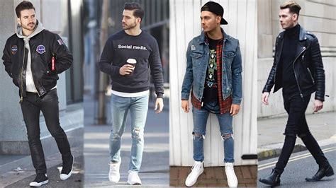 Men Streetstyle Lookbook How Style Streetwear