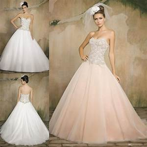 blush wedding dress ball gown wedding gown dresses With blush ball gown wedding dress