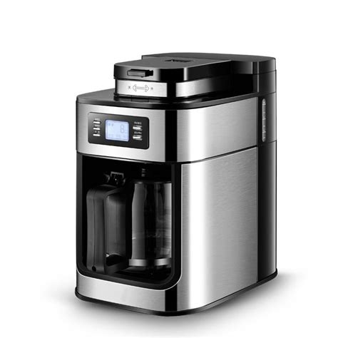 Espresso is created based on the brewing process, aka, what you do to it. 2 In 1 Automatic Drip Coffee Maker Bean Grinder Electric ...
