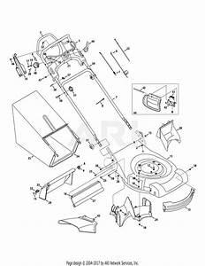 Troy Bilt 12ai832q711  2010  Parts Diagram For General