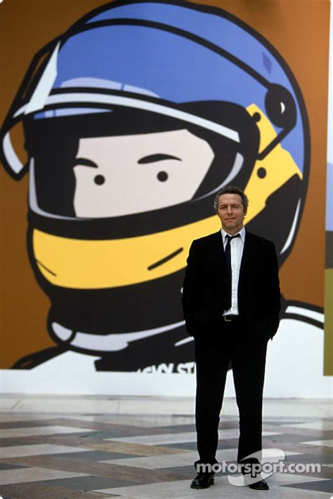 British Open Standings by British Artist Julian Opie Brings Together Art And Formula